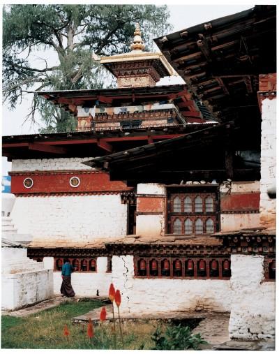 Buthan Foto Kyuchu Temple