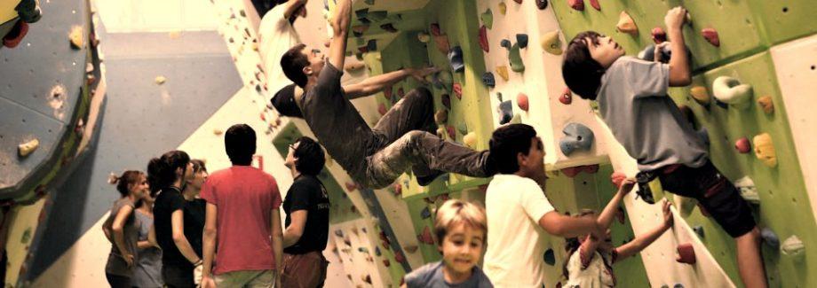 Escalada deportiva para niños en Navartur