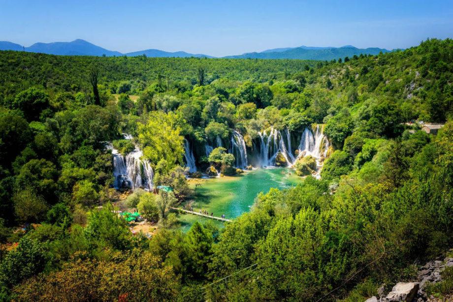 Cataratas de Kravice, maravilla de Bosnia
